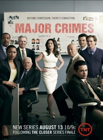 Major Crimes 2012 1.Sezon (Türkçe Dublaj) DVDRip (Tüm Bölümler)