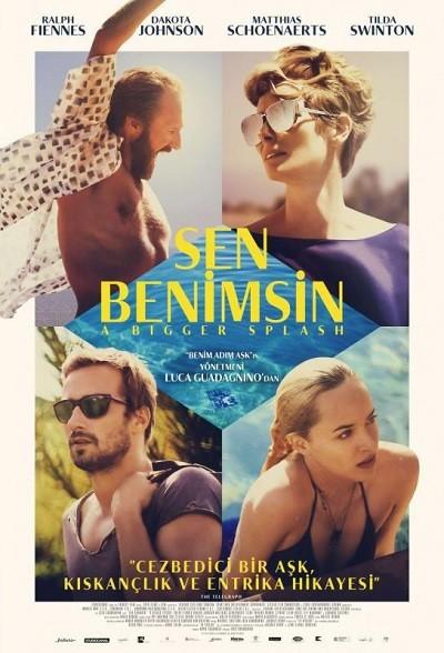 Sen Benimsin - A Bigger Splash 2016 BRRip XViD Türkçe Dublaj - Tek Link Film indir