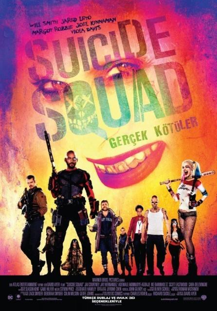 Suicide Squad: Gerçek Kötüler Türkçe Dublaj izle – Tek Parça