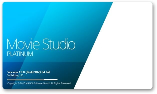 MAGIX Movie Studio Platinum 13.0 Build 987