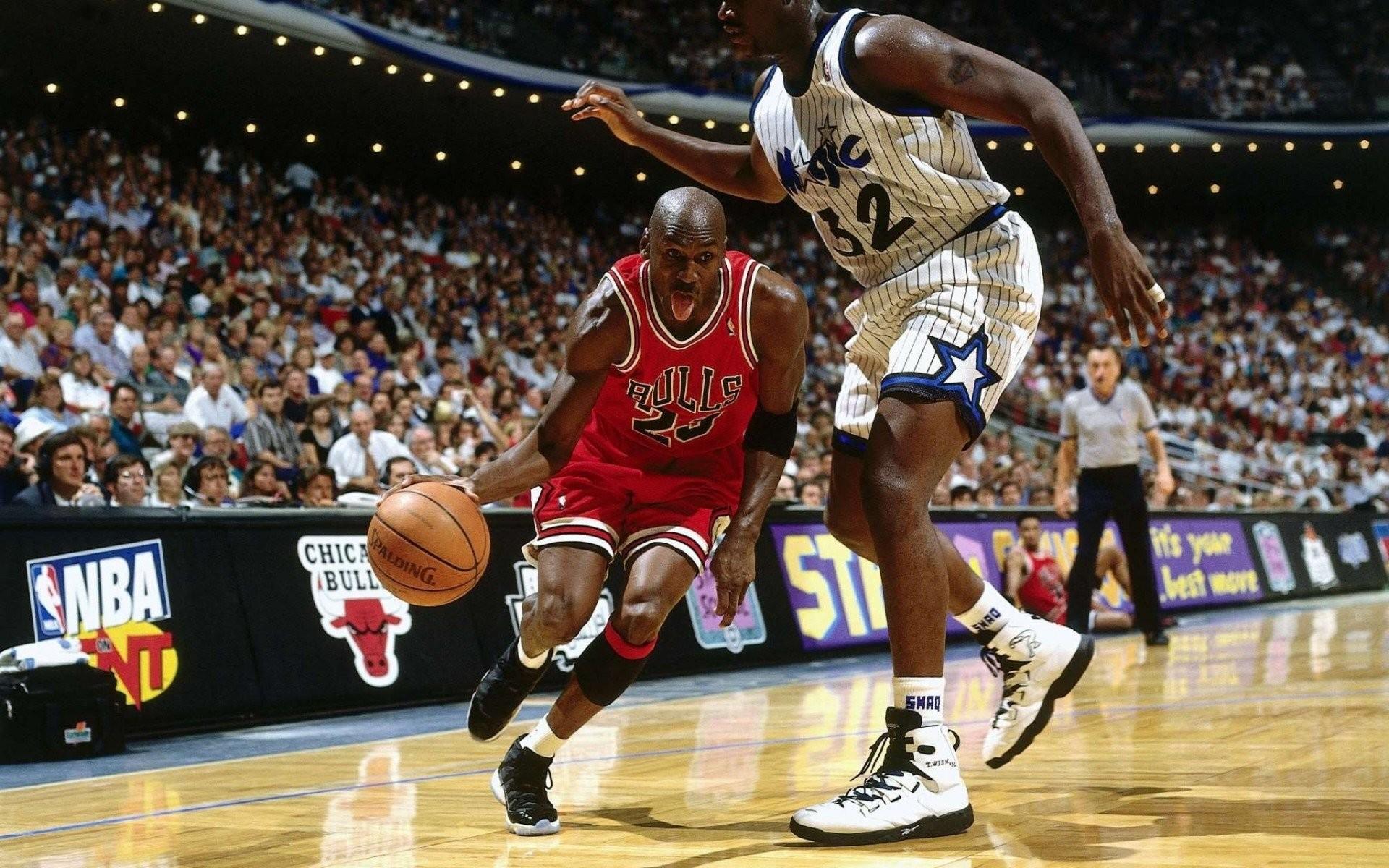 Chicago Bulls Magic Nba Basketball Sports Jordan Orlando Shaquille Oneal Michael Wallpaper Wallpapers