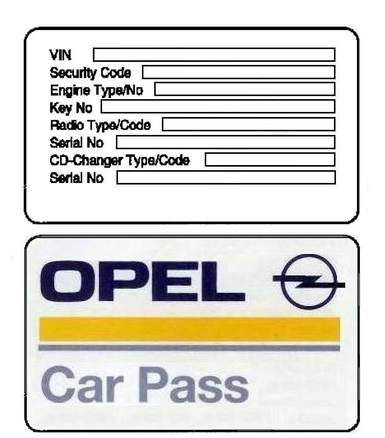 Opel Astra H Teyp Sıfırlama (Boşandırma) - Astra TR