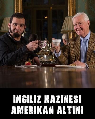 İngiliz Hazinesi Amerikan Altını Türkçe dublaj belgesel indir