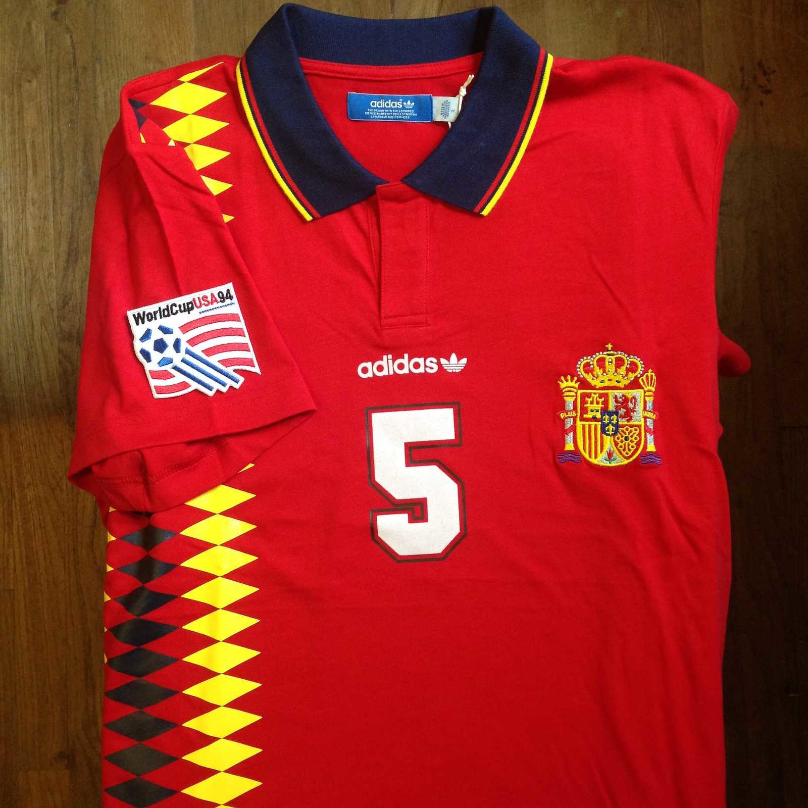 Spain 2018 World Cup Home Kit 1