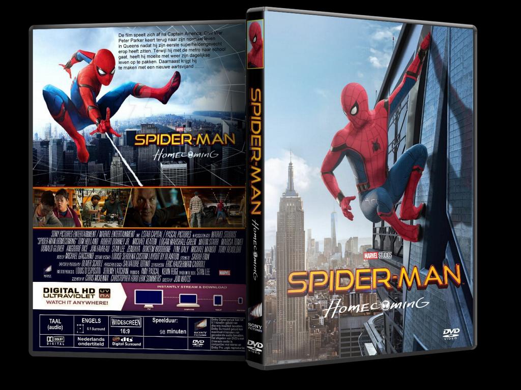 Spider-Man: Homecoming – Örümcek-Adam: Eve Dönüş 2017 ( DVD-9 ) DuaL TR-ENG indir