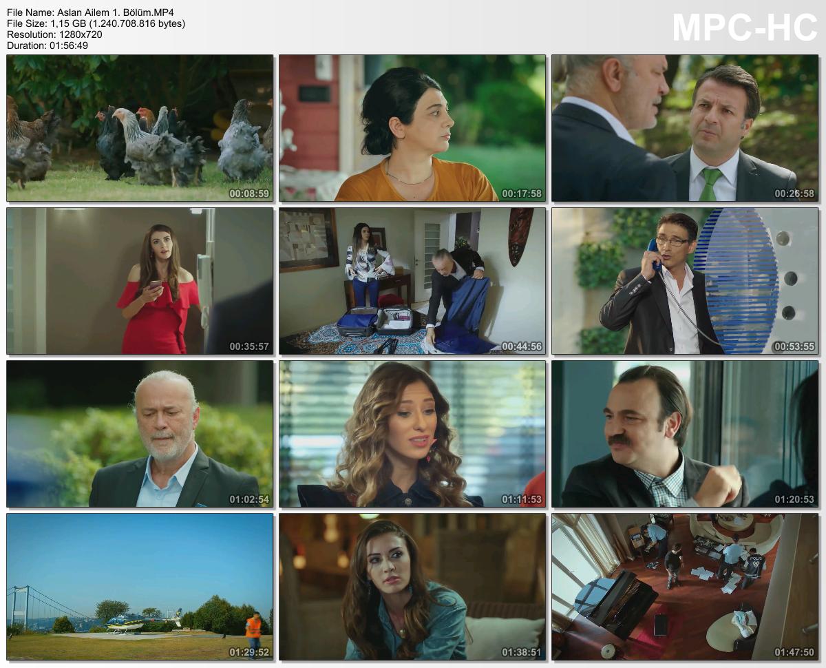 Aslan Ailem 23.Bölüm (HD - x264 - 1080p) Tüm Bölümler - okaann27
