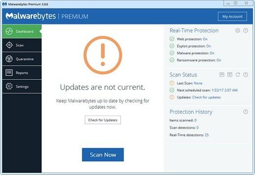 Malwarebytes Premium Full İndir