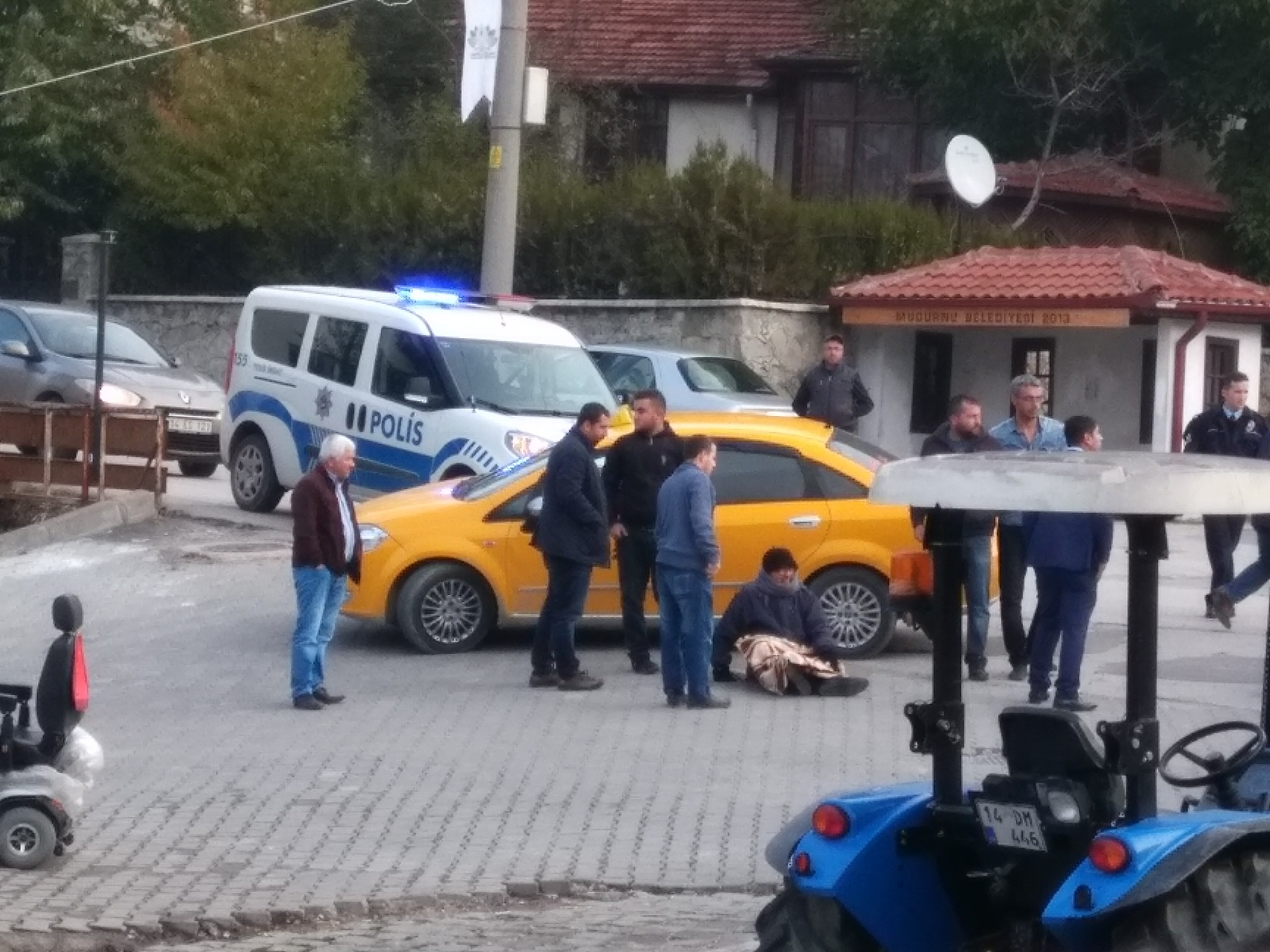 Mudurnu'da Trafik kazası