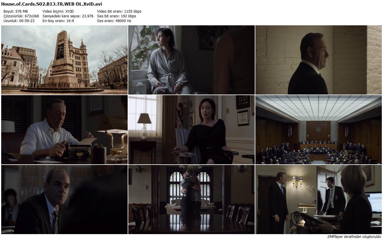 House of Cards | 2.Sezon | Tüm Bölümler - Türkçe Dublaj