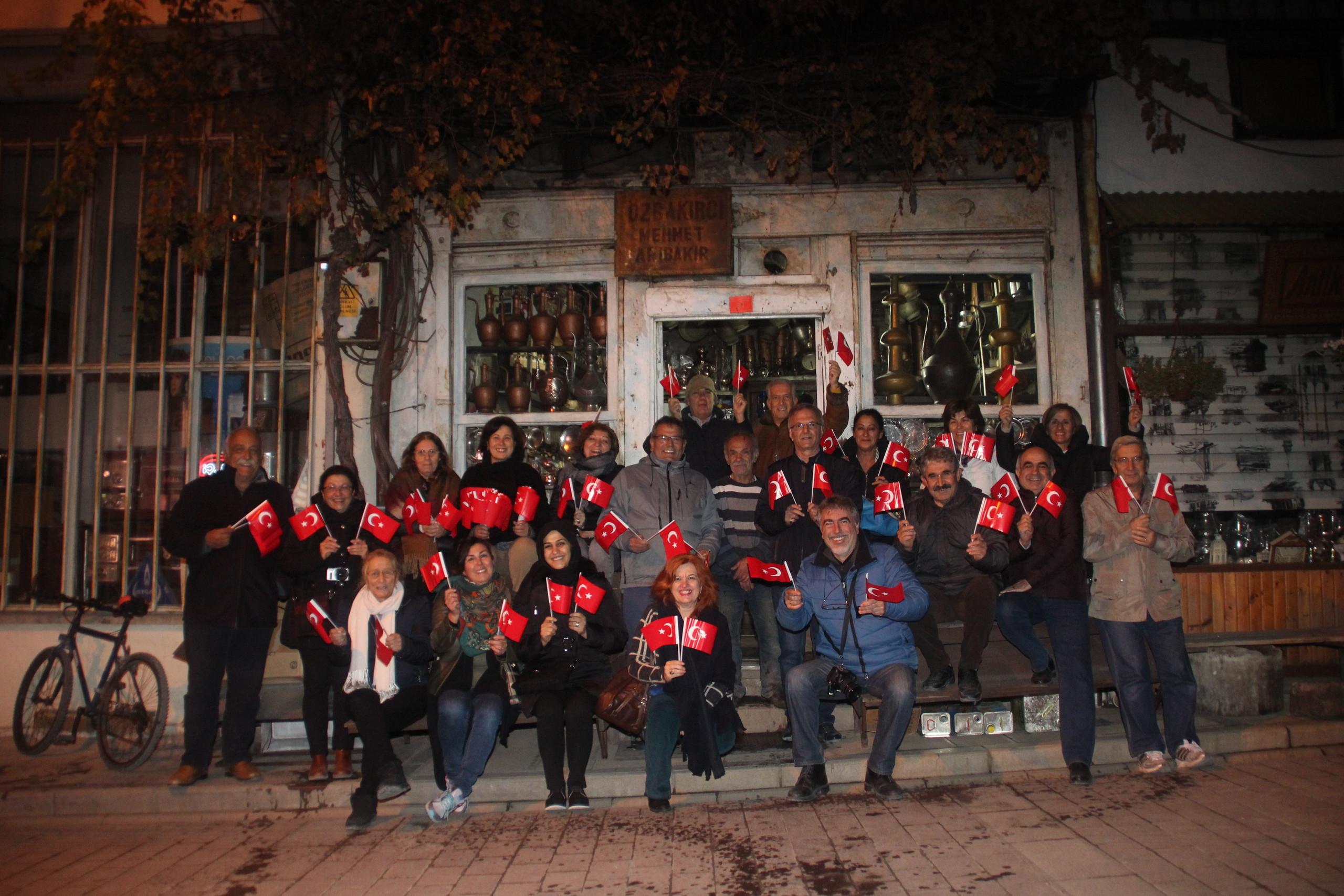 İnşaat 79 'dan  Mudurnu'da 29 Ekim kutlaması