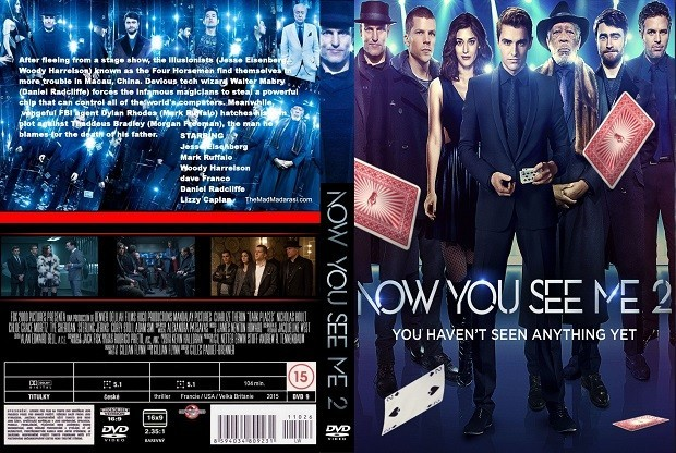 Sihirbazlar Çetesi 2 – Now You See Me 2 2016 DVD-9 DUAL TR-ENG – Tek Link