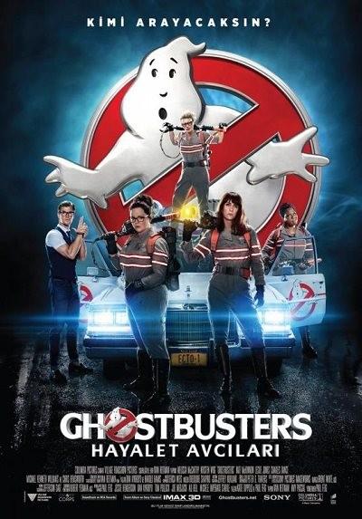 Ghostbusters: Hayalet Avcıları 2016 BRRip XViD EXTENDED Türkçe Dublaj - Tek Link Film indir