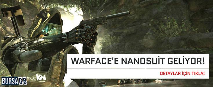Warface 'e Efsane NanoSuit Geliyor ! Sahip Olmak Ister misin ?