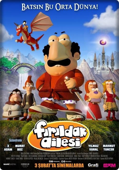 Fırıldak Ailesi 2017 (Yerli Animasyon) 720p DVDRip Upscale DD5.1 AC3
