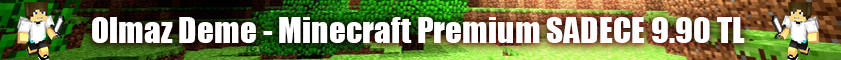 Ucuz Minecraft Premium