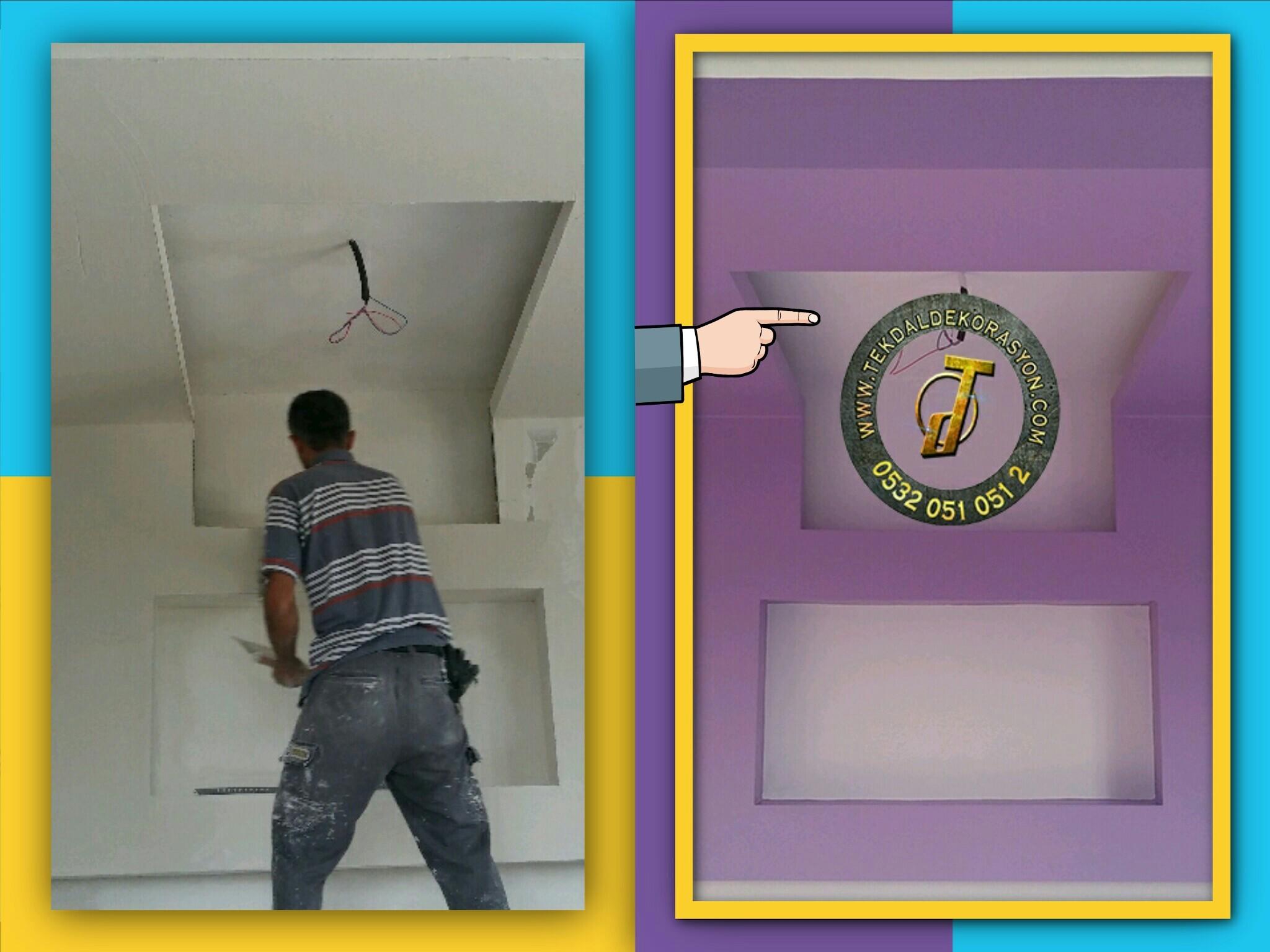 önce ve sonra boya