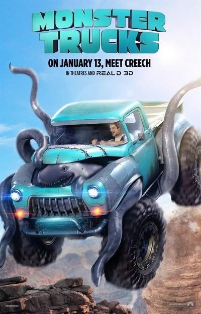 Canavar Kamyonlar | Monster Trucks | 2016 | BRRip XviD | Türkçe Dublaj