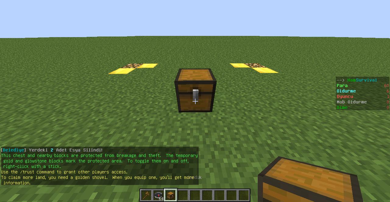 minecraft grief prevention server