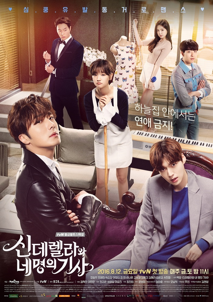 Cinderella and Four Knights / 2016 / Güney Kore/ Online Dizi İzle