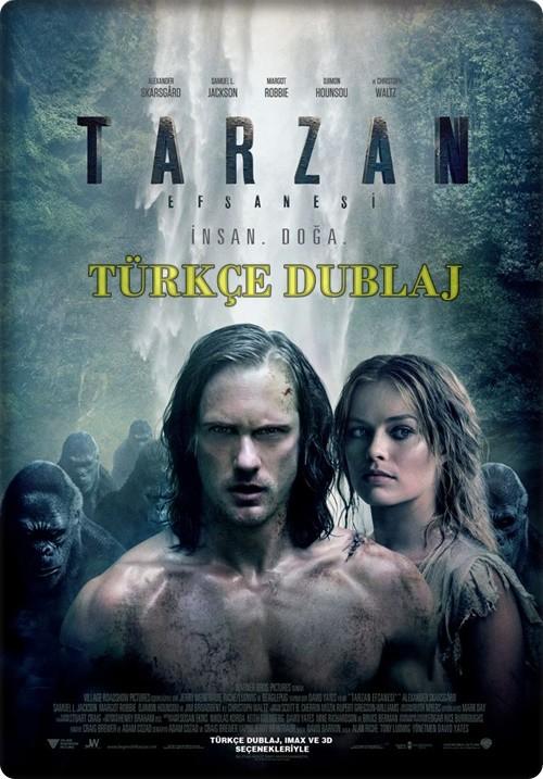 Tarzan Efsanesi - The Legend of Tarzan 2016 HDRip (Türkçe Dublaj)