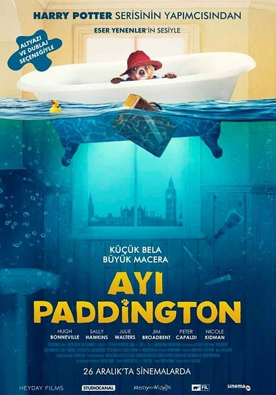 Ayı Paddington 2014 ( BRRip XviD ) Türkçe Dublaj - Tek Link