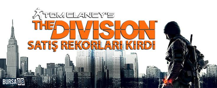 Tom Clancy's The Division Satis Rekorlarini Alt Üst Etti
