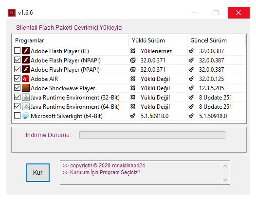 Silentall Flash Paketi Çevrimiçi Yükleyici v1.6.6 cover