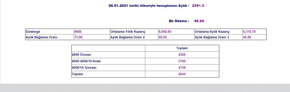 ZvrAGZ - SGK sitesinden emekli maaşı hesaplatma
