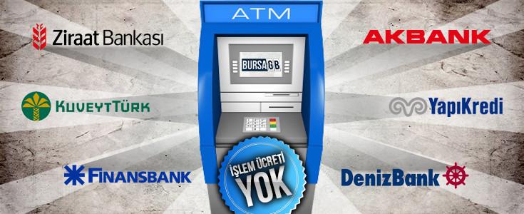 ATM'den MASRAFSIZ ÖDE