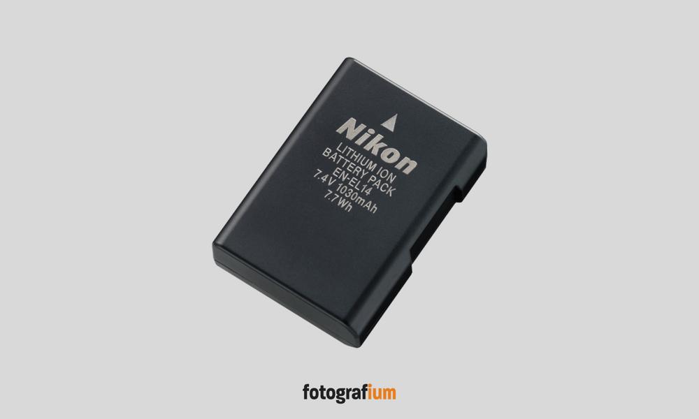 Nikon Fotoğraf Makinesi Bataryası