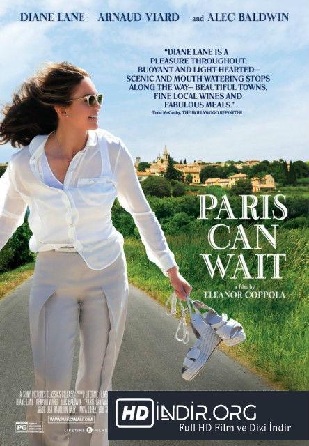Paris Bekleyebilir - Paris Can Wait (2016) Türkçe Dublaj HD İndir