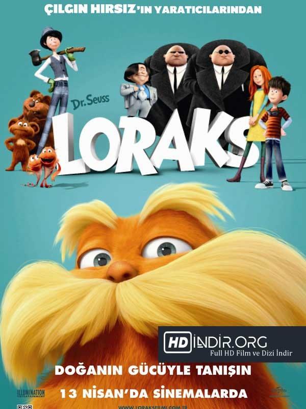 Loraks - The Lorax İndir (2012) Türkçe Dublaj HD Film indir