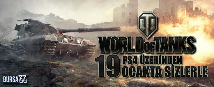 World of Tanks Artik PS 4'de