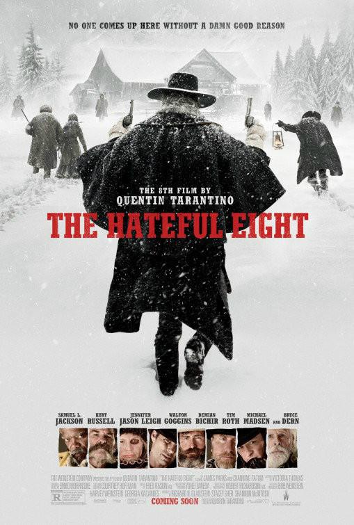 Nefret - Sekizlisi - The Hateful Eight (2015) - türkçe dublaj film indir
