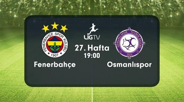 Fenerbahçe – Osmanlıspor (03.04.2016) | HDTV 720p | Full Maç – VKRG