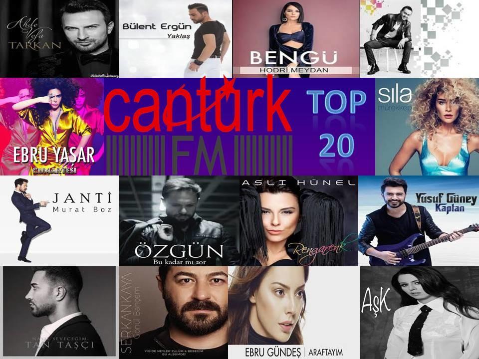 CanTurkFm Top 20 Listesi Mayıs 2016 İndir