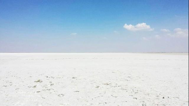Seyfe Gölü tamamen kurudu