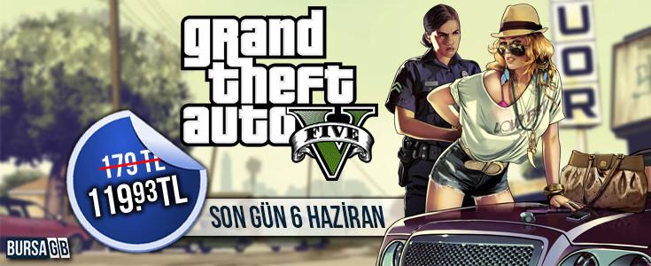 Grand Theft Auto V Steam Özel Indirimi