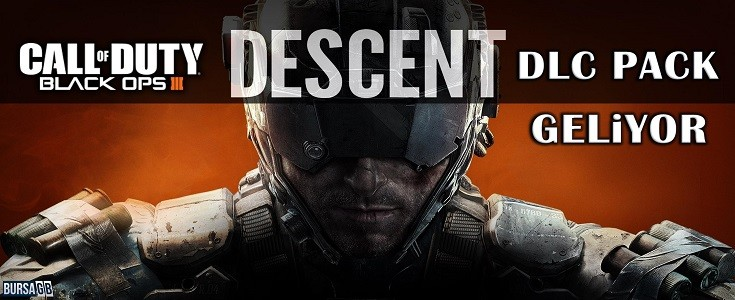 Call of Duty: Black Ops 3 Descent DLC Pack Geliyor