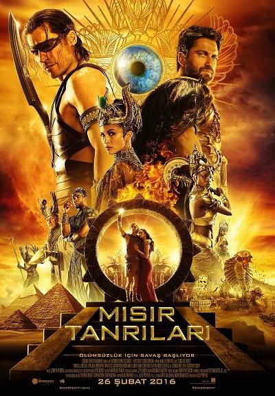 Mısır Tanrıları - Gods of Egypt 2016 afiş