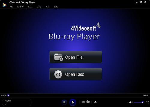 4Videosoft Blu-ray Player 6.1.96