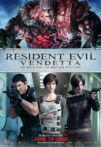 Resident Evil: Vendetta (2017) BRRip XviD Türkçe Dublaj - Tek Link