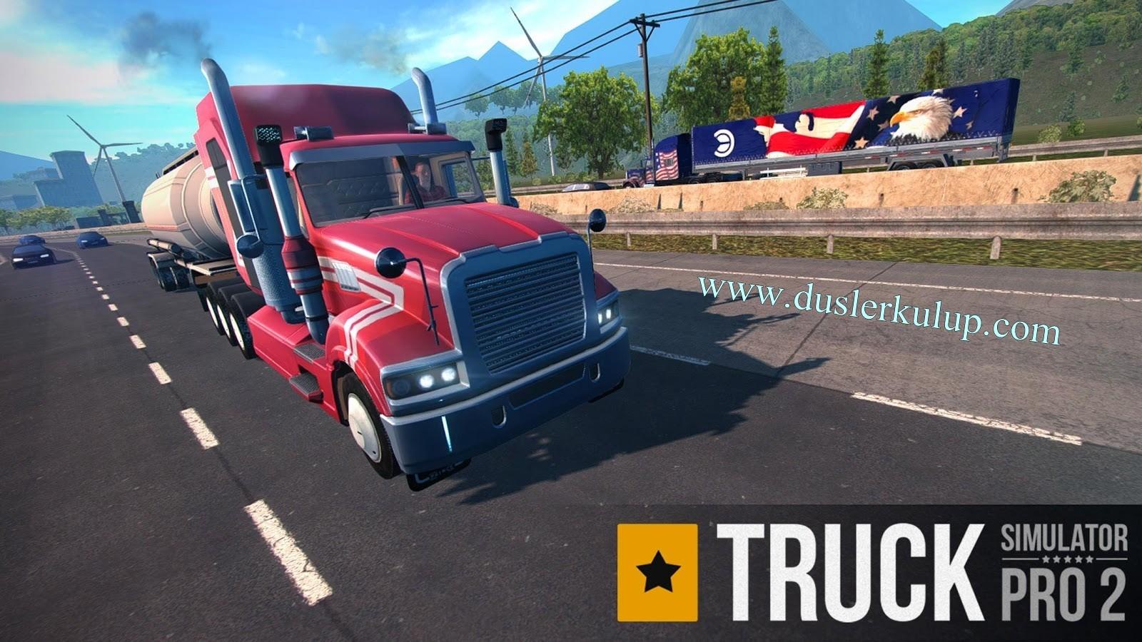 Truck Simulator Pro Apk Android Oyununu Cep Telefonuna Yükle