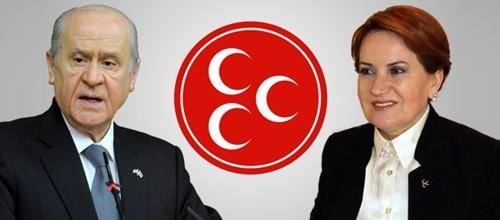 MHP'DE AKŞENER SESLERİ TAVAN YAPTI