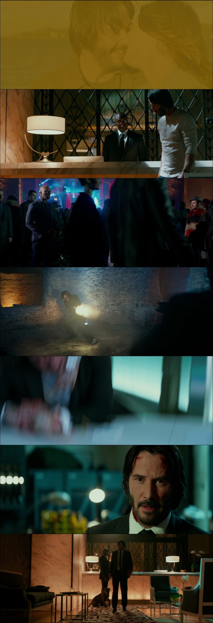 John Wick 2 2017 1080p WEB-DL Türkçe Dublaj - Tek Link