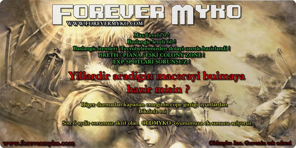 Forevermyko Geri Donuyor , Yeni Dunya Adonis ! Official 15-12-2015 ! Max level 70 !
