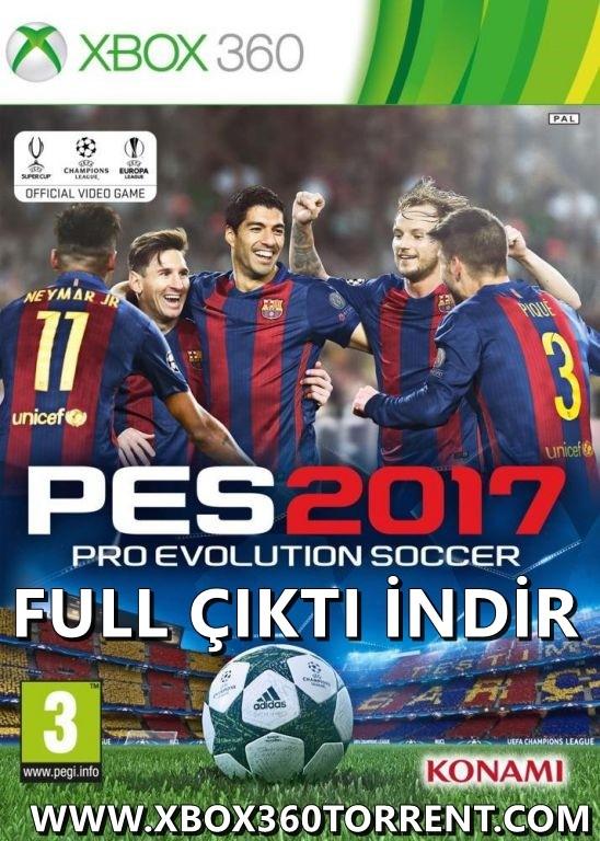 PES 2017 Xbox 360 Türkçe Oyun İndir [MEGA] [FULL-ISO-Complex] [PAL/NTSC-U]
