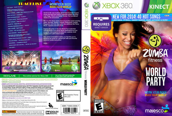 Zumba Fitness World Party Xbox 360 Oyun İndir [Google Drive