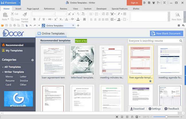 WPS Office 2016 Premium 10.1.0.5802