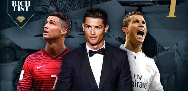 Dünyanın ən varlı futbolçusu yenə Ronaldodur